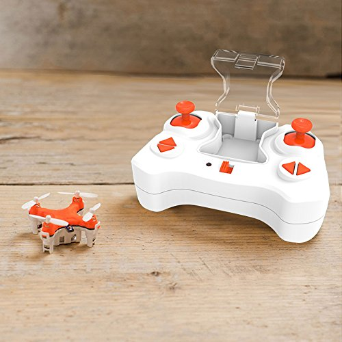 SKYKING Mini Drone Quadcopter S-007 Remote Control UAV 2.4GHz Tiny UFO with Gyroscope Gift for Kids Toy RC Quadcopter with Extra Propellers