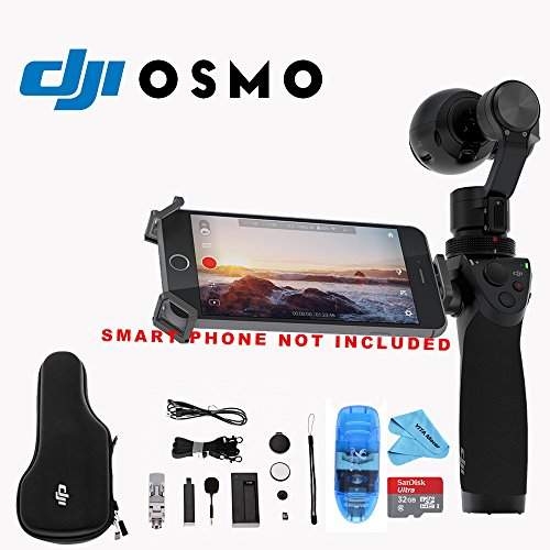 Handheld SteadyGrip Camera 3 Axis Microphone
