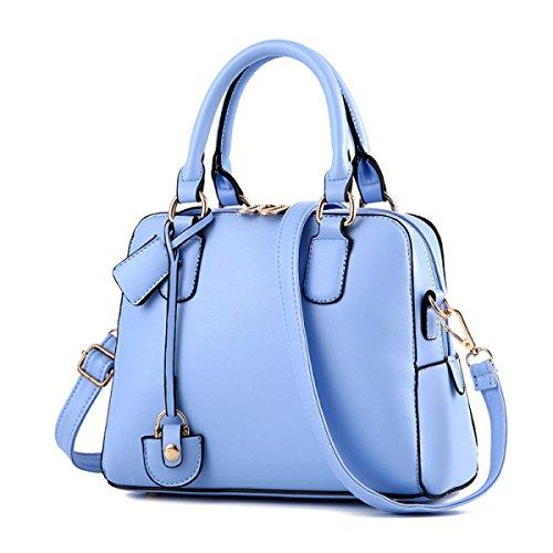 Bag De L'âge Blue En Cuir D'épaule Pu Bandoulière Sac Wu Main Moyen Lady Souple Zhi À qBWRgfw