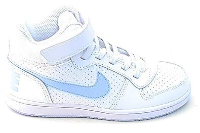NIKE Mädchen Court Borough Mid (PSV) Basketballschuhe, Mehrfarbig  (White Royal Tint 103), 30 EU  Amazon.de  Schuhe   Handtaschen 220ffe0f72
