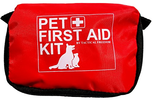 Pet First Aid Kit Dog   Vet Approved And Is Perfect For Bleeding Nails  Clean  Dress Wounds  Self Adhering Bandage Will Not Stick To Hair  Hiking Dog First Aid Kit For Backpacking  Camping  Travel