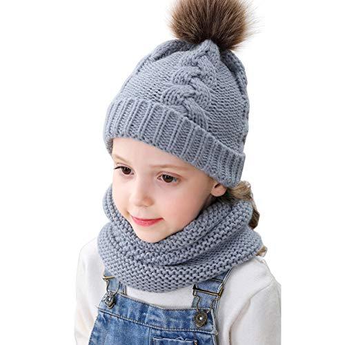 dise/ño con Texto en ingl/és Keep Arm Baby Hairball Gorro de Lana Unisex para beb/é LEEDY
