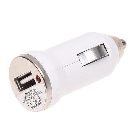 Amazon.com: SODIAL (R) USB Cargador de coche adaptador para ...