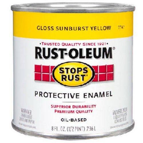 rust-oleum-7747730-high-performance-1-2-pint-protective-enamel-oil-base-paint-sunburst-yellow