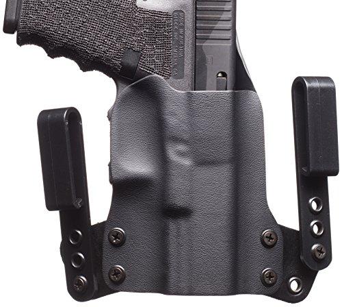Black Point Tactical Mini Wing IWB Holster Fits Glock 43, Right Hand, Black (Glock Black Short)