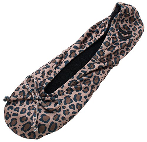 isotoner-womens-classic-satin-ballerina-slipper-cheetah-x-large-95-105-m-us