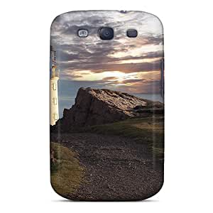 High Quality OscarAPaz Stone Road To A Beautiful Lighthouse Skin Case Cover Specially Designed For Galaxy - S3