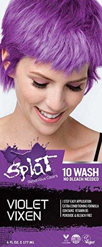 Splat 10 Wash No Bleach (Violet Vixen)