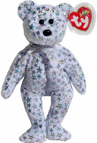 Ty Beanie Baby ~ WHITE the Bear ~ Internet Exclusive ~ MINT with MINT TAGS