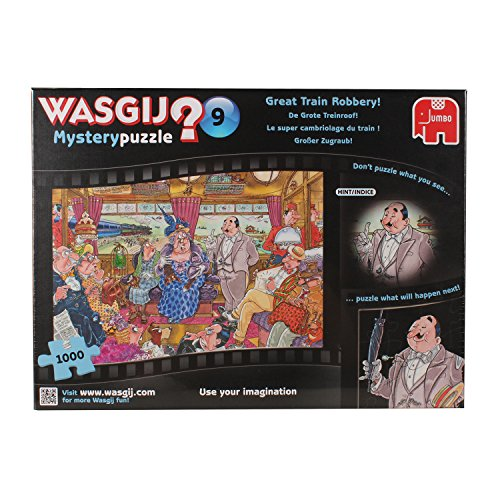 Wasgij 1000 Piece Mystery 9 The Great Train Robbery Jigsaw Puzzle