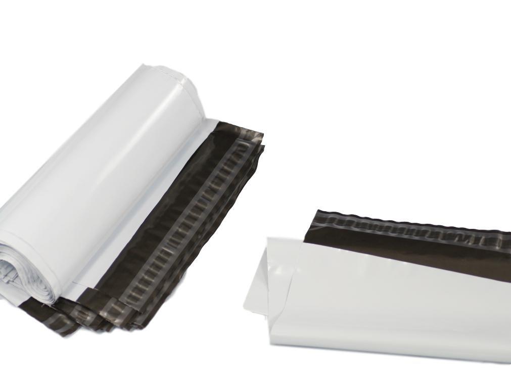 (Confezione da 50) bianco 325x 425mm, spedizione per spedizioni postali Poly buste di plastica per spedizione postale imballaggio pacchetto con chiusura autoadesiva Filbag