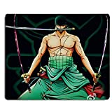 REINDEAR 9.5x8' One Piece Pirates Water Resistant Mouse Pad Mouse Mat US SELLER (Roronoa Zoro)