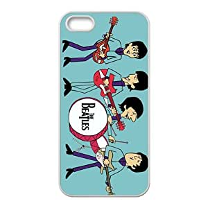 Cartoon The Beatles Fashion Comstom Plastic case cover For Iphone 5s by mcsharks