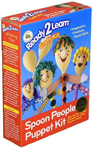 Center Enterprise CE6901 READY2LEARN Spoon People Puppet Kit (Pack of 4)