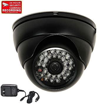 Weatherproof Wide Angle Security camera with Sony CCD IR LEDs Day Night CCTV WL9