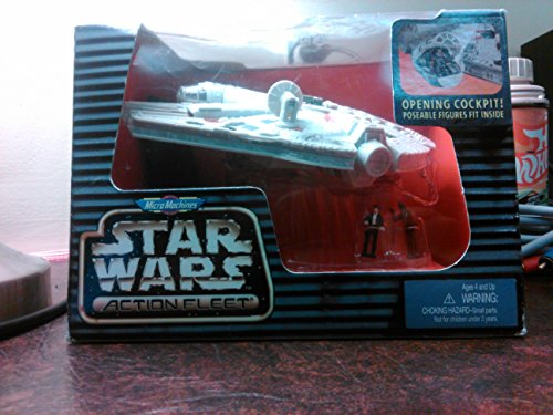 Titanium Micro Machines (Micro Machines Star Wars Action Fleet Millennium Falcon)