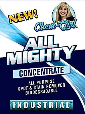 All Mighty - All Purpose Cleaner | Spot & Stain Remover | Best For Indoor And Outdoor Cleaning | Removes Stains From Just Anything, Surface, Clothing, Wall, Baseboard, Car Interior & Exterior Etc.