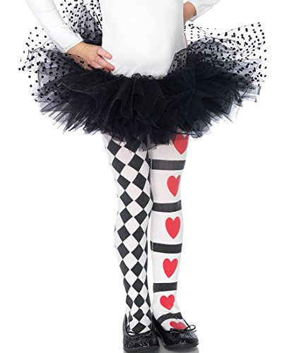 Harlequin and Heart Tights Child Costume Accessory - Large]()