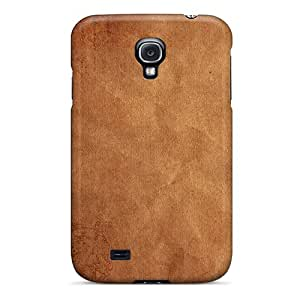 New Premium CuJfCDy3464wnYaE Case Cover For Galaxy S4/ Kraft Paper Texture Protective Case Cover
