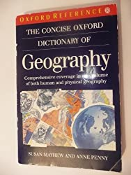 The Concise Oxford Dictionary of Geography (Oxford Quick Reference)