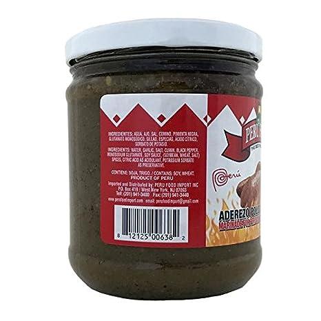 Amazon.com : Peru Food Aderezo Pollo a La Brasa Marinade for Peruvian Roasted Chicken 13.5 Oz. : Gourmet Marinades : Grocery & Gourmet Food