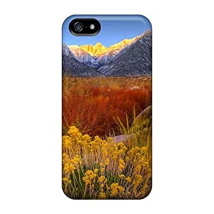 Premium Durable Beautiful Mountain Blossoms Fashion Tpu Iphone 5/5s Protective Case Cover