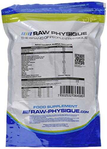 Raw Physique Oat Meal Suplemento - 700 gr: Amazon.es: Salud y cuidado personal