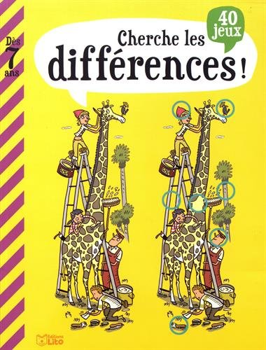 Mon Grand Livre De Jeux: Cherche Les Différences - Dès 7 Ans