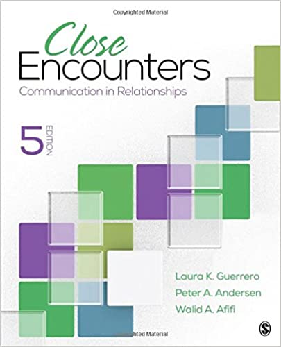 Close Encounters: Communication in Relationships: 9781506376721