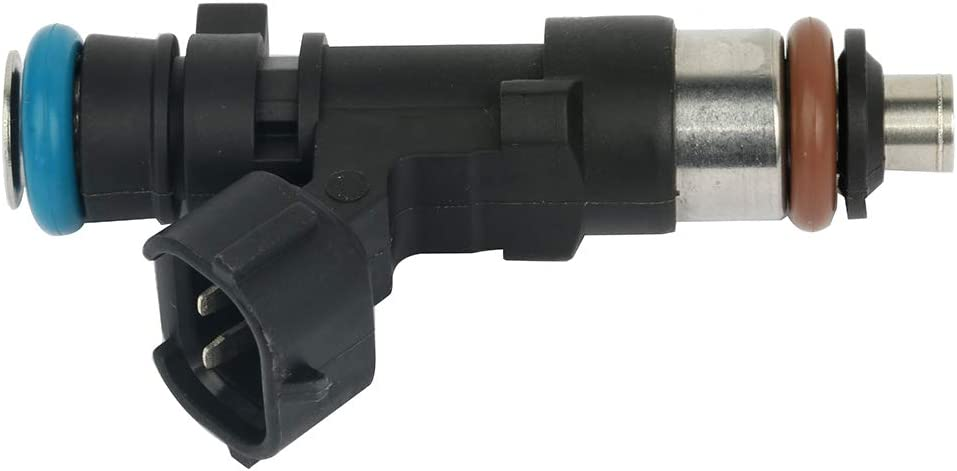 Fuel Injectors ECCPP 8 pcs 12 Holes Fuel Injector Kit 0280158007 fit for 2005-2014 Nissan Armada 2006-14 Nissan Frontier 2005-10 Nissan Pathfinder 2004 Nissan Pathfinder Armada 2004-12 Nissan Titan