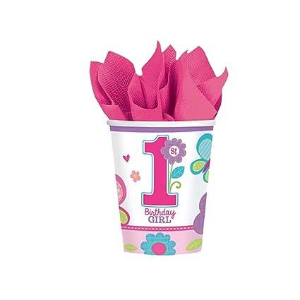 Copas de cumpleaños infantil 8 vasos para cumpleañera 2600 ...