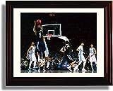 Framed 2016 Villanova Kris Jenkins ''The Shot'' NCAA Champs Print