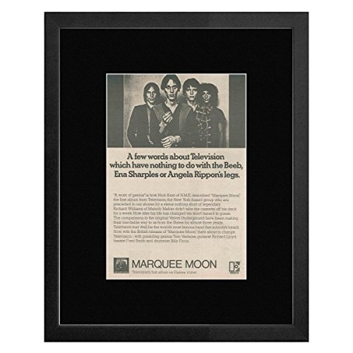 Television - Marquee Moon Framed Mini Poster