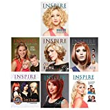INSPIRE Beauty Hairstyles Stylist Salon Client Ideas Package 7 Books BK-V2018
