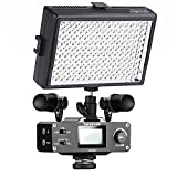 Saramonic Ultimate DSLR Camera Video Kit with Dual Stereo Microphones, Audio Mixer, LED Light and Stabilizing Rig for Canon EOS, Nikon and other SLR Cameras/Camcorders