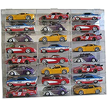 Amazon.com: Diecast 1: 24 Display Case 24ss coche escala 1 ...