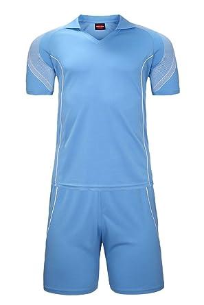 b22220ab BOZEVON Men's Running Shirt Short Sleeve T-Shirt Workout Fitness Badminton  Clothes Sportswear 2 PCS