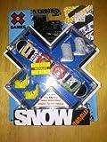 X Games Fingerboard Snowboard 32 Eighties Snowboard / TM-Two Boots