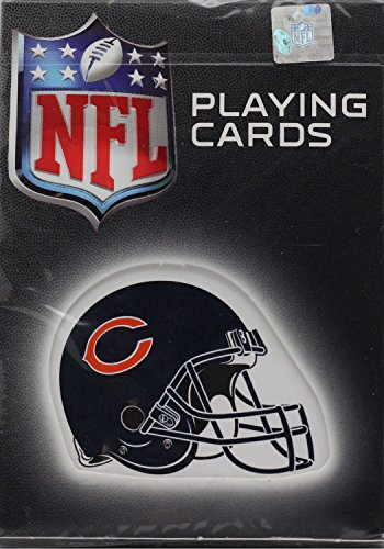 - NFL Chicago Bears NFL Helmet Logoed Playing Cards