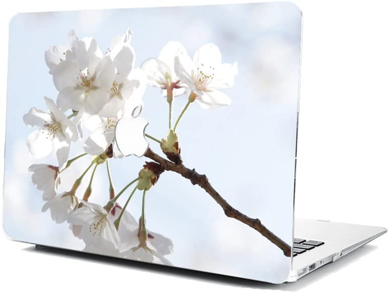 GSPSTORE MacBook Air 13 Inch Model A1369//A1466 Case,Flower Cherry Blossoms Pattern Hard Shell Protector Cover for MacBook Model A1369//A1466#02