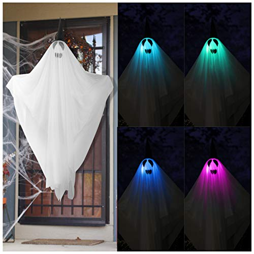 Top 10 best outdoor ghost halloween decorations for 2020