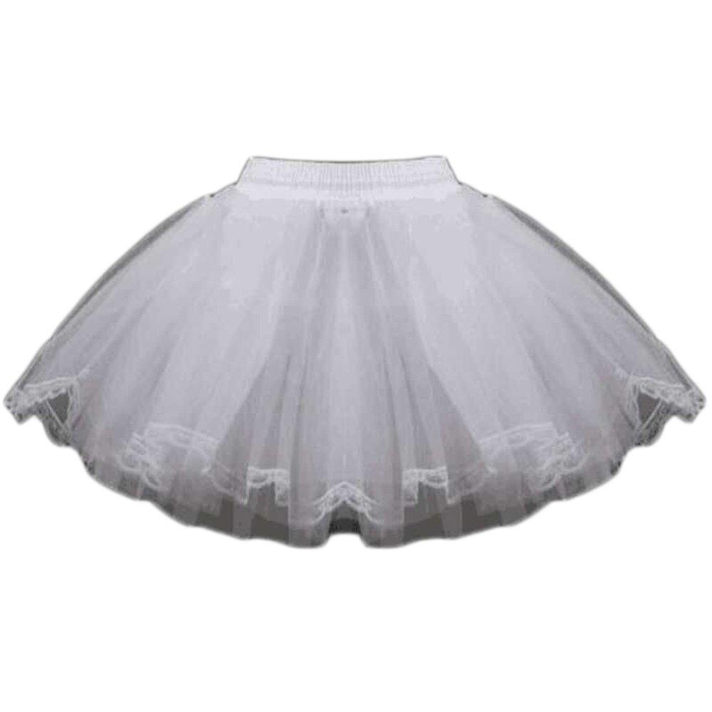 Women's Luxury Vintage Lace Layers Petticoat Adult Cocktail Dance Underskirt (Q6605)