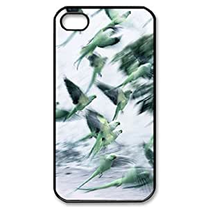 AKERCY Kissing Parrots Bird Phone Case For Iphone 4/4s [Pattern-1]