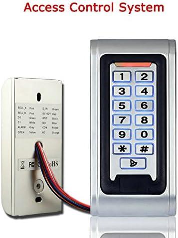 mountainone puerta acceso Control sistema controlador caja de metal lector de RFID teclado/SY5000: Amazon.es: Electrónica