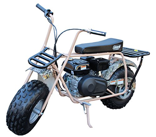 Coleman Powersports 196cc/6.5HP CT200U Gas Powered Trail Bike - Camo with racks by Coleman Powersports