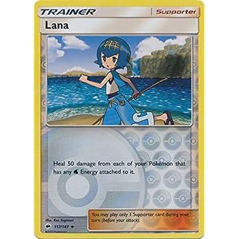 127//147 WICKE TRAINER CARD POKEMON SUN /& MOON BURNING SHADOWS