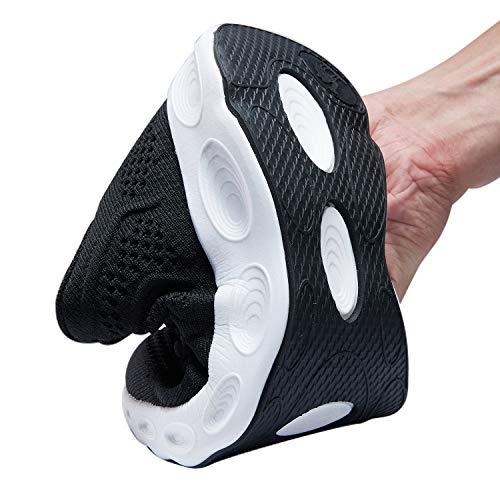 En Mesh Semelle amp; Noir Baskets Chaussures Course Léger Femmes Souple De Respirantes Crown Camel Pour blanc Athlétique Hommes ABpggw
