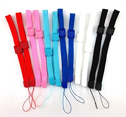 12 x Hand Wrist Strap Wristband for Sony PSP 1000 2000 3000 Go PS Vita PS3 Move Cameras, Nintendo DS DS Lite DSi DSi XL 2DS 3DS 3DS XL Wii Remote Wii U, MP3 Music Players (Wrist Strap Psp)