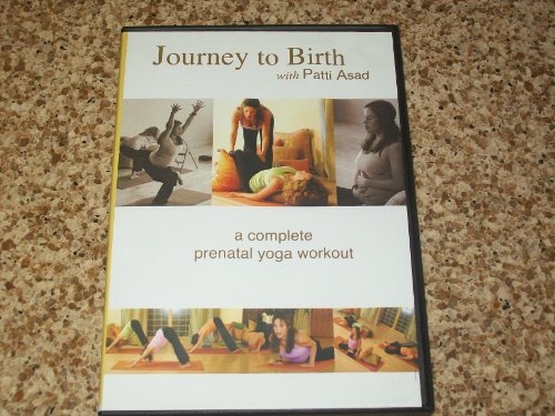 PATTI ASAD DVD JOURNEY TO BIRTH A COMPLETE PRENATAL YOGA WORKOUT