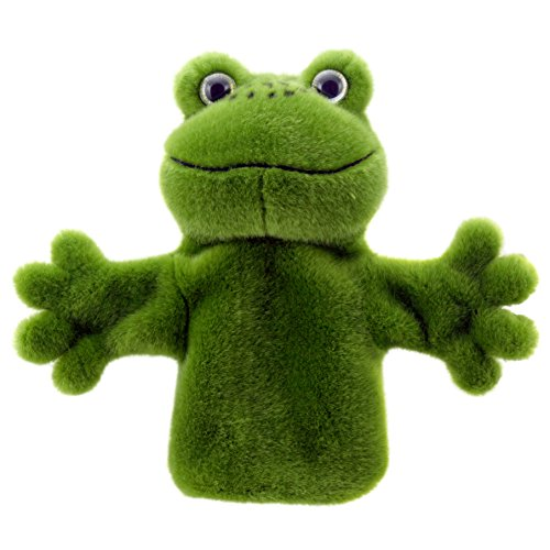 Hand Puppet Frog (The Puppet Company CarPets Frog Hand Puppet)